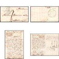 9943 Lac Oroun 1834 Pour Bressuire Deux-Sèvres Marque Postale France Lettre Cover - Marcofilia (sobres)