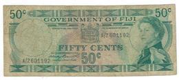 Fiji, 50 Cents, VG. - Fiji