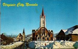 Nevada Virginia City St Mary's Church 1971