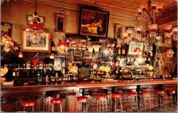 Nevada Virginia City Old Washoe Club Saloon Interior 1965