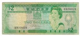 Fiji, 2 Dollars, F/VF. - Fidji