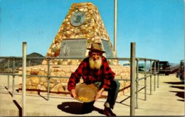 Nevada Virginia City Comstock Lode Monument 1964