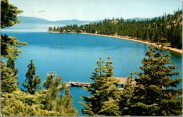 Nevada Lake Tahoe Marla Bay and Zephyr Point 1963