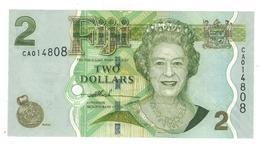 Fiji, 2 Dollars, UNC. - Fiji