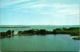 Vermont Lake Champlain Aerial View Of North Hero - United States