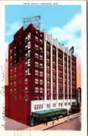 Wisconsin Oahkosh Hotel Raulf 1942 - Oshkosh