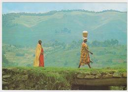 1545/ RWANDA (Native People. Natives).- Published By SABENA. - Non écrite. Unused. No Escrita. Non Scritta. Ungelaufen. - Rwanda