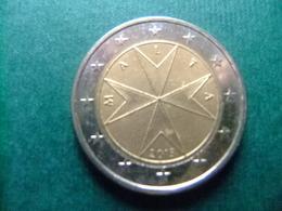 MALTA / MALTA 2013 / EUROS / CRUZ MALTESA - Malta