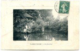 94420 LE PLESSIS-TREVISE - L'Ile Caroline - Un Pavillon - Cadre Embossé - Le Plessis Trevise