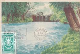 SANTIAGO DEL ESTERO, VISTA DE LA TOMA, LA BANDA. TAMBURINI. CPA AVEC OBLIERATION FDC 1953 - BLEUP - Argentina