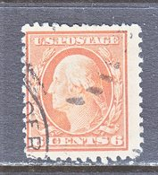 U.S. 379  Perf 12.  (o)   Single Line Wmk.   1910-11 Issue - Used Stamps