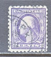 U.S. 464   Type I    Perf 10.   (o)   No  Wmk.  Flat Press   1916-17 Issue - Used Stamps