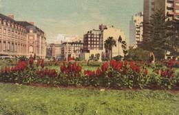 PLAZA COLON. MAR DEL PLATA. CPA VOYAGEE CIRCA 1950s - BLEUP - Argentina