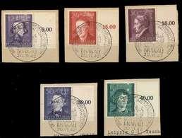 GENERALGOUVERNEMENT 1942 Nr 96-100 Zentrisch Gestempelt BRFS X8B5102 - Besetzungen 1938-45