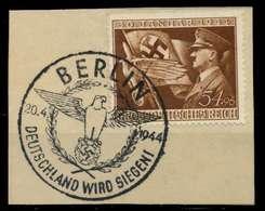 DEUTSCHES REICH 1944 Nr 865 Zentrisch Gestempelt Briefstück X8B5272 - Allemagne