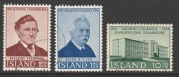 1961. 50th Anniversary Of Iceland University. Used (o) - 1944-... Republik