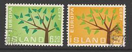 1962. Europa. Used (o) - 1944-... República
