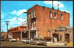 Virginia City / Nevada  -  Old Ghost Town  -  Historic Street With Saloons  -  Ansichtskarte Ca.1960  (10378) - Etats-Unis