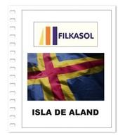 Suplemento Filkasol Isla De Aland 2018 - Ilustrado Para Album 15 Anillas - Pre-Impresas