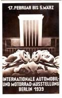 SALON DE L' AUTOMOBILE BERLIN 1939 Timbres N° 627 à 629 Sur Carte , AUTO , VOITURE , AUTOMOBIL - Deutschland