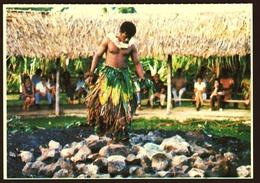 Fiji  -  Beqa Island  -  Fire Walking  -  Ansichtskarte Ca. 1980    (10410) - Fidschi