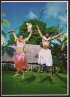 Fiji  -  The Traditional War Dance  -  Ansichtskarte Ca. 1980    (10385) - Fidschi