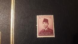 1953 Presidente Sukarno  Nuovo - Indonesia