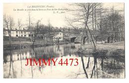 CPA - La Moselle Se Jette Dans La Sèvre Au Pont De Ste-Radégonde En 1939 - LA BRUFFIERE Canton De Mortagne 85 Vendée - Mortagne Sur Sevre