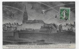 MEZIERES EN 1913 - N° 8 - LE BOMBARDEMENT ALLEMAND DU 31/12/1870 - BEAU CACHET - CPA VOYAGEE - France