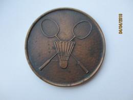 BADMINTON TOYOTA CUP MEDAL , O - Badminton
