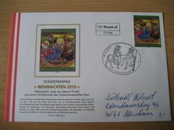 Österreich- Christkindl 19.11.2010 FDC - Beleg Echt Gelaufen - 2001-10 Lettres