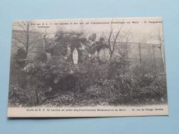 Grot Van O.L.V. Van Lourdes / FRANCISCANERSEN Zendelingen CONGOSTRAAT 21 ( N° 2 ) Anno 19?? ( Zie Foto's ) ! - Antwerpen