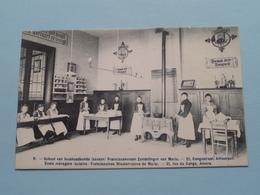 School Huishoudkunde / FRANCISCANERSEN Zendelingen CONGOSTRAAT 21 ( N° 11 ) Anno 19?? ( Zie Foto's ) ! - Antwerpen