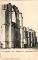 41ik 1639 CPA - MAILLEZAIS - LES RUINES DE L'ABBAYE - Maillezais