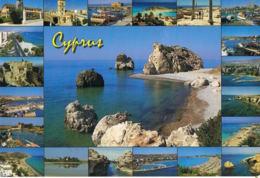Cyprus- Chypre - Multivues - Cpsm -recto Verso - Paypal Sans Frais - Chypre