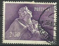 Portugal - 1957 Almeida Garrett 2e30 Used  SG 1143  Sc 825 - 1910-... Republic