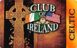 Club Of Ireland Celtic Players Card - Las Vegas, NV - Casino Cards