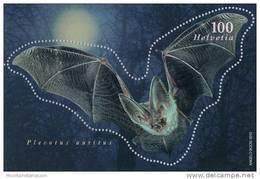 Switzerland 2012 Fledermaus Bat Microbat Microchiroptera ** MNH - Chauve-souris