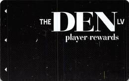 The Den LV - BLANK Pub / Casino Slot Card From Las Vegas, NV - Casino Cards