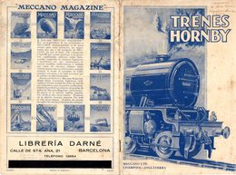 Catalogue HORNBY Trenes Via Spur Gauge O 1929 - En Espagnol - Livres Et Magazines
