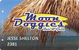 Moon Doggies Bar & Grill - Casino / Pub - Slot Card From Las Vegas, NV - Casino Cards