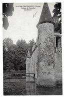 Saint-Aubin-Château-Neuf (Yonne) Château De Fourolles, Les Douves - France