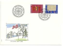 EUROPA--  BERNE  1982 - Non Classificati