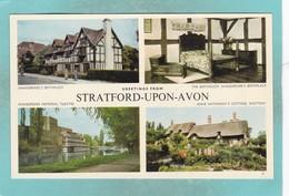 Small Multi View Post Card Of Stratford Upon Avon,K84. - Stratford Upon Avon