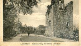 Luxembourg - Clausenerberg Mit Ruine Lutzelburg - Luxembourg - Ville