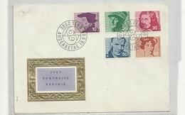 1969 POTRAITS EFFIGE  -STATO  COME  SCANSIONE - Svizzera