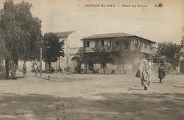 5 Medjez El Bab Hotel Des Colons Edit Caylus Autobus Envoi Receveur PTT Maisoncelle Foum Tatahouine Le Deley - Tunisia