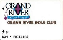 Grand River Casino - Mobridge SD - 1st Issue Slot Card - Casino Cards
