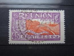"""VEND TIMBRE DE LA REUNION N° 111 , CACHET A CERCLE TIRETE """" ST-GILLES """" !!! - Reunion Island (1852-1975)"""
