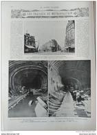 1908 TRAVAUX DU METROPOLITAIN (LIGNE 4) - SAINT PIERRE ET MIQUELON - RAMBOUILLET CHASSE ROYALE - PROFESSEUR METCHNIKOFF - Livres, BD, Revues